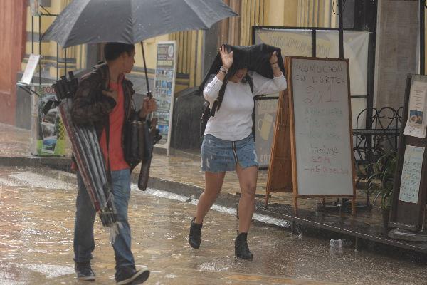 En Puebla, Veracruz y Chiapas, se estiman las tormentas intensas