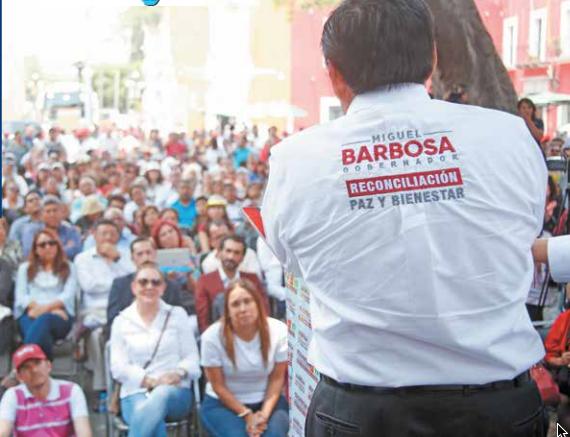 El postulante de Morena afirmó que durante su gobierno se evitará toda forma de corrupción.FOTO: ESPECIAL