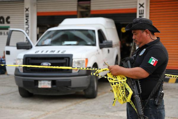 Los hechos ocurrieron cerca de las 23:00 horas en la calle Durazno.