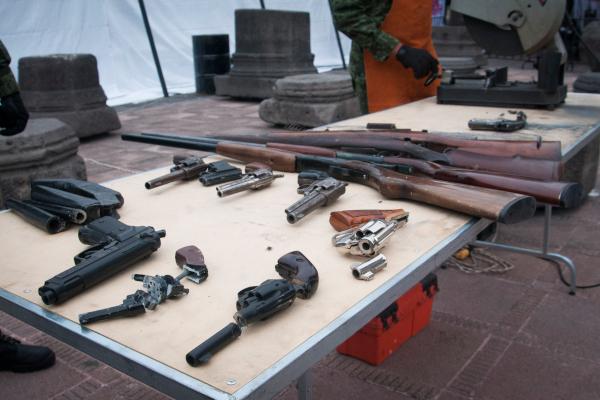 Rodríguez aseguró que hasta el momento llevan recolectadas 122 granadas. Foto: Archivo | Cuartoscuro