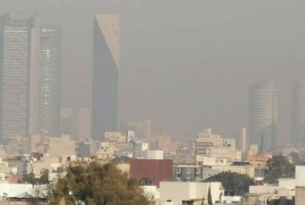 En el corte de las 17:00 horas la calidad del aire en la Ciudad de México y Zona Conurbada, es reportada como mala a regular. FOTO: ESPECIAL
