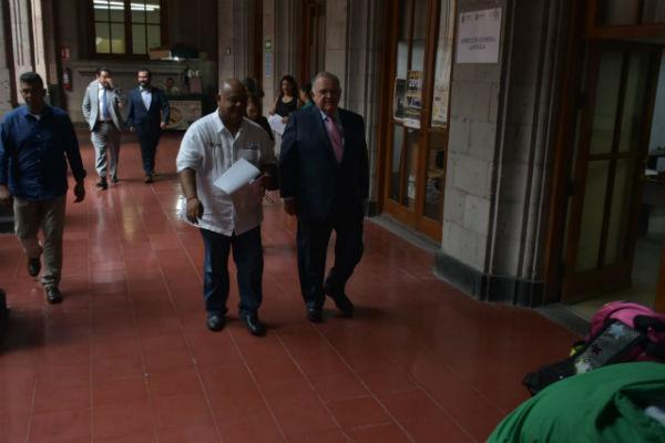 Eric Patrocinio Cisneros Burgos, relacionó al supuesto líder de Cártel de Jalisco Nueva Generación con la fiscalía a cargo Jorge Winckler Ortiz.FOTO: ESPECIAL