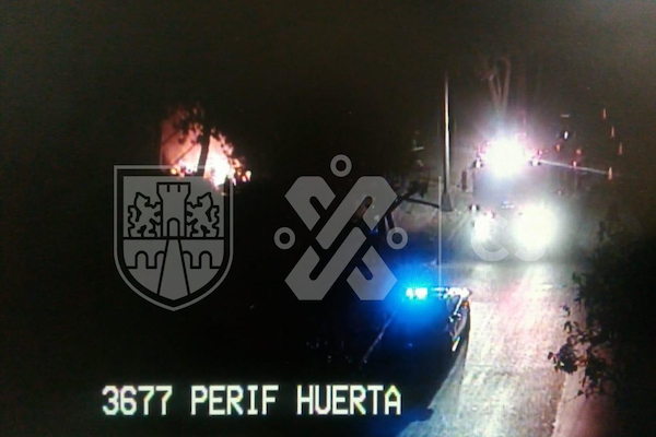 Incendio en Xochimilco