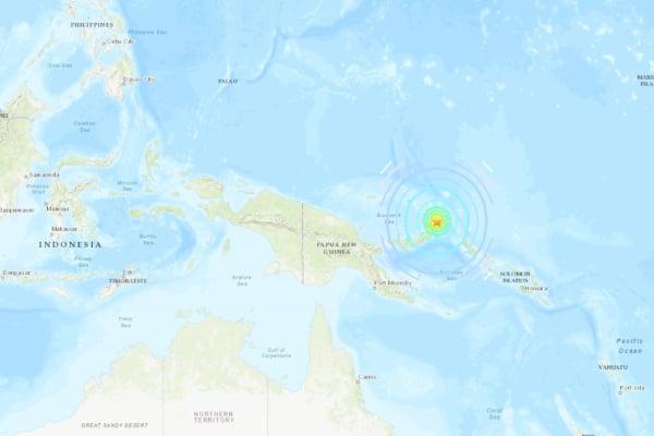 El terremoto tuvo un profundidad de 10 kilómetros. Foto: Especial