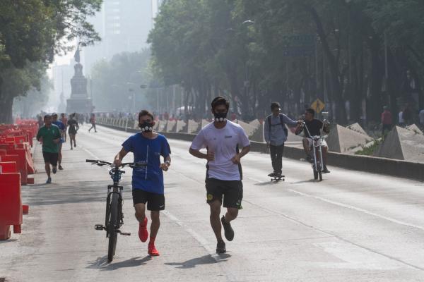 Las autoridades recomiendan no realizar actividades vigorosas tales como ejercicio intenso. Foto: Archivo | Cuartoscuro