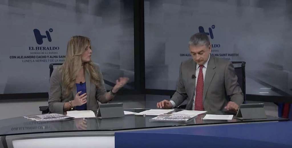 Noticias de la mañana con Alejandro Cacho y Alma Saint Martin: Emisión 27 de mayo de 2019
