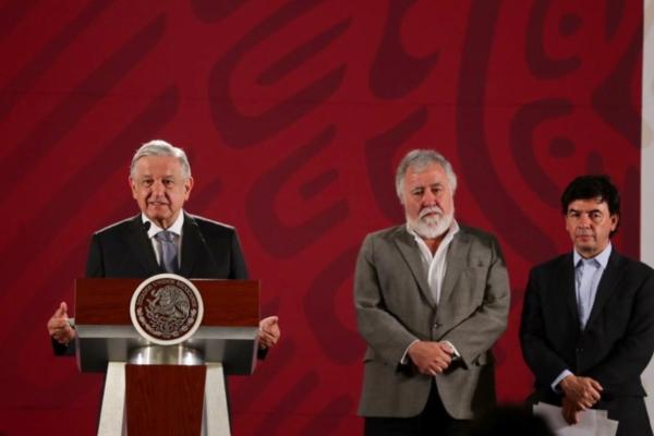 Conferencia matutina del presidente de México. Foto: Presidencia