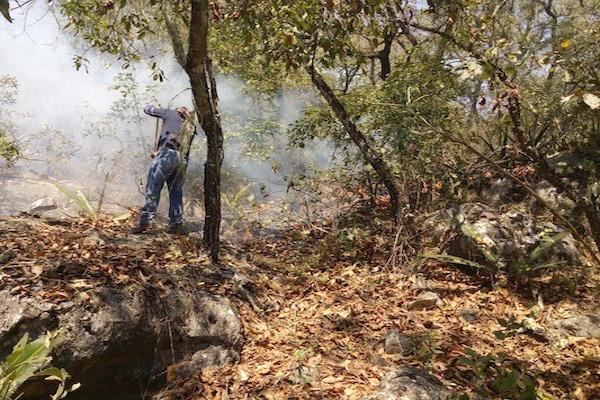 Incendios en Querétaro