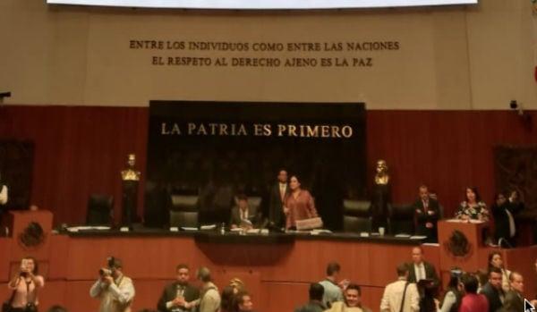 La aprobación no tuvo votos en contra. FOTO: ESPECIAL