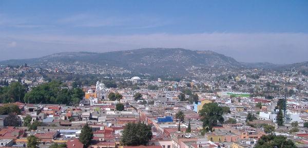 La mala calidad del aire llegó hasta Tlaxcala. FOTO: ESPECIAL