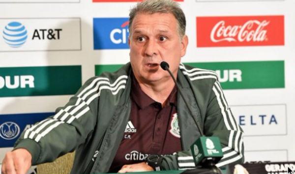 El técnico de la Selección Nacional presentó la lista previa de los jugadores que acudirá a la Copa Oro. FOTO: ESPECIAL