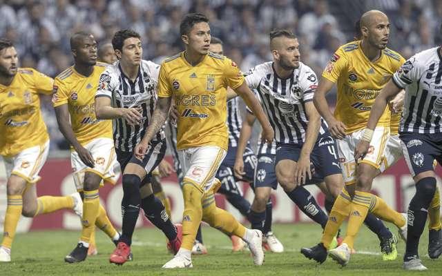 Tigres y Rayados se enfrentarán en semifinales. FOTO: ESPECIAL