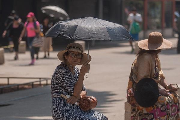 En la capital no se esperan lluvias; pero en el Estado de México habrá lluvias aisladas. Foto: Cuartoscuro