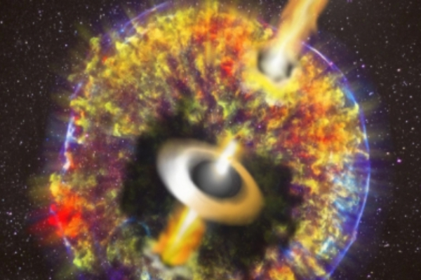 Los científicos determinaron que el choque ocurrió hace cuatro mil 600 millones de años. Foto: Notimex