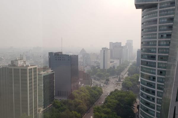 Iztapalapa y Cd. Nezahualcóyotl pasaron de tener muy mala calidad a mala calidad del aire. Foto: Especial