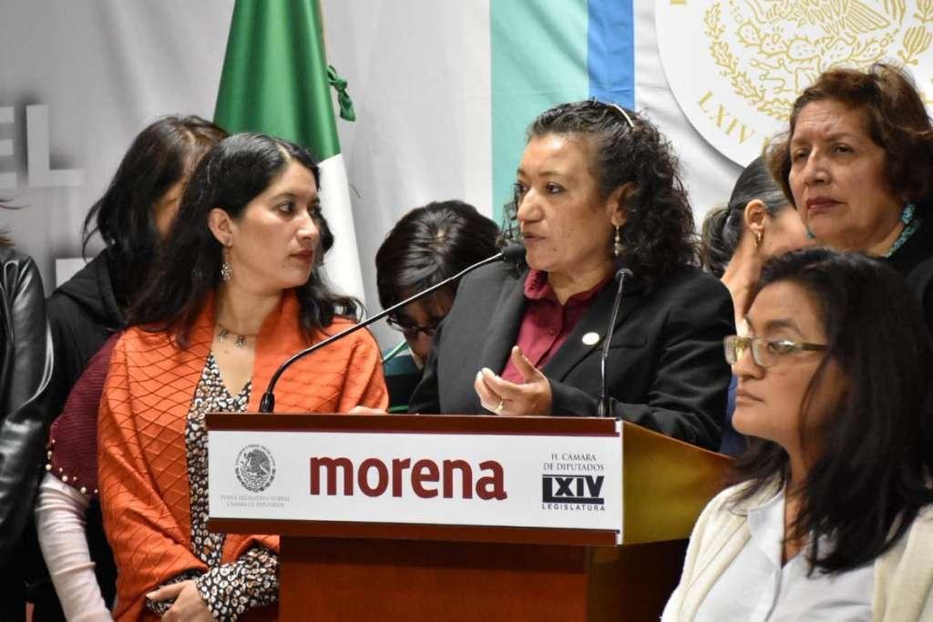 Diputada María Chávez