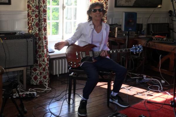El pasado 4 de abril, el cantante fue sometido a una operación del corazón. Foto: @MickJagger