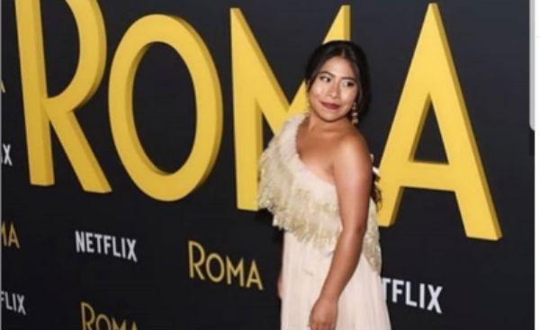 La protagonista de la película Roma fue presentadora de una entrega de premios. FOTO: ESPECIAL