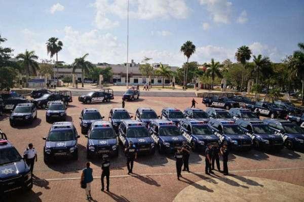 Al empezar este mes, el municipio rentó 35 patrullas. Foto: Especial