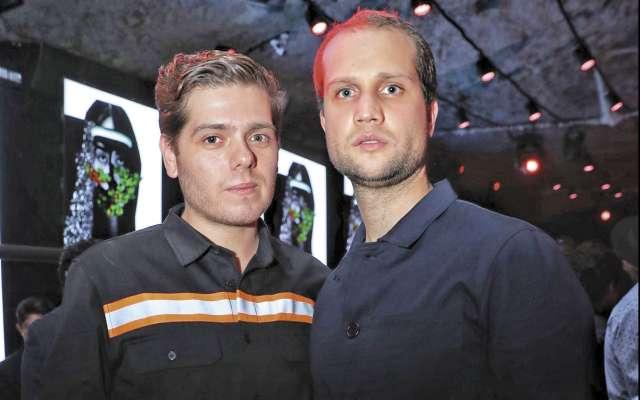 David Souza y Johann Mergenthaler. FOTO: CORTESÍA