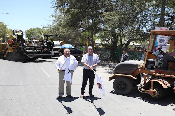 Fue entregada la carretera que une las ciudades de Guamúchil y Angostura. Foto: Especial