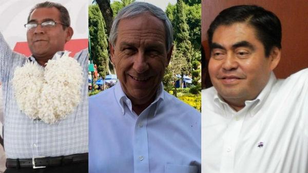 Jiménez, Cárdenas y Barbosa preparados para elecciones extraordinarias en Puebla. Foto: Especial