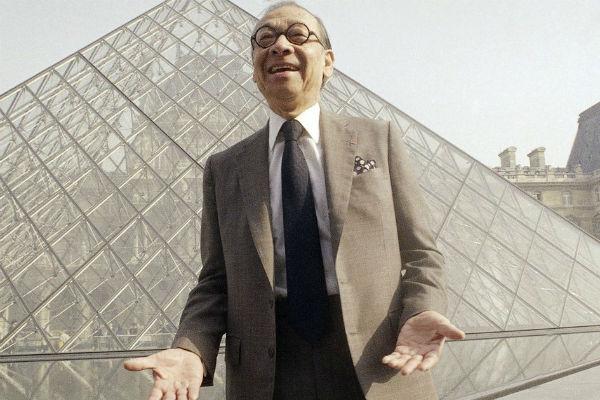 arquitecto pirámide de Louvre