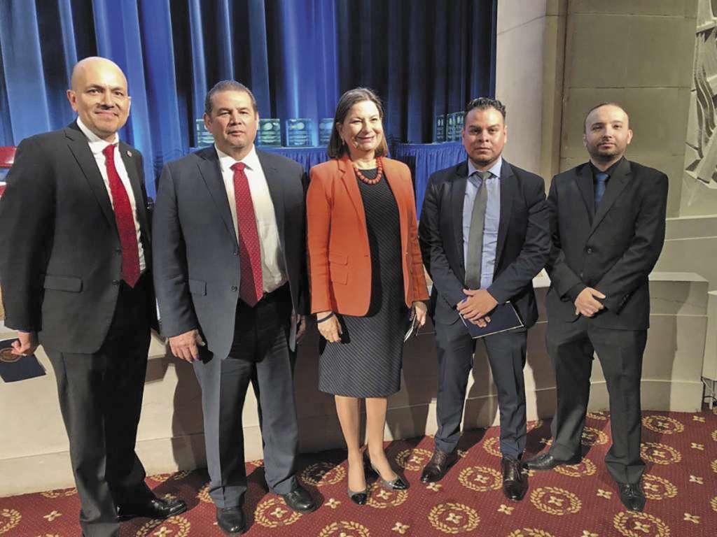 En la imagen el equipo de la Administración Central de Investigación y Análisis de la AGACE. Foto: Especial