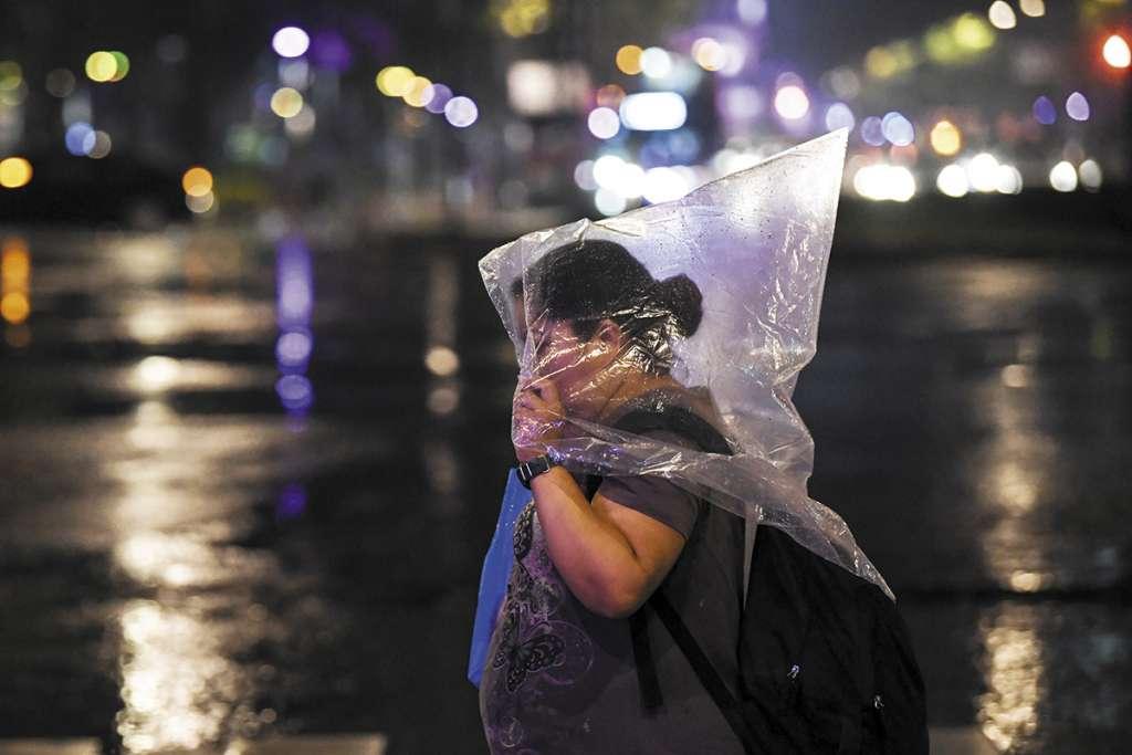 La precipitación del miércoles no tuvo características de abundancia. Foto: Especial