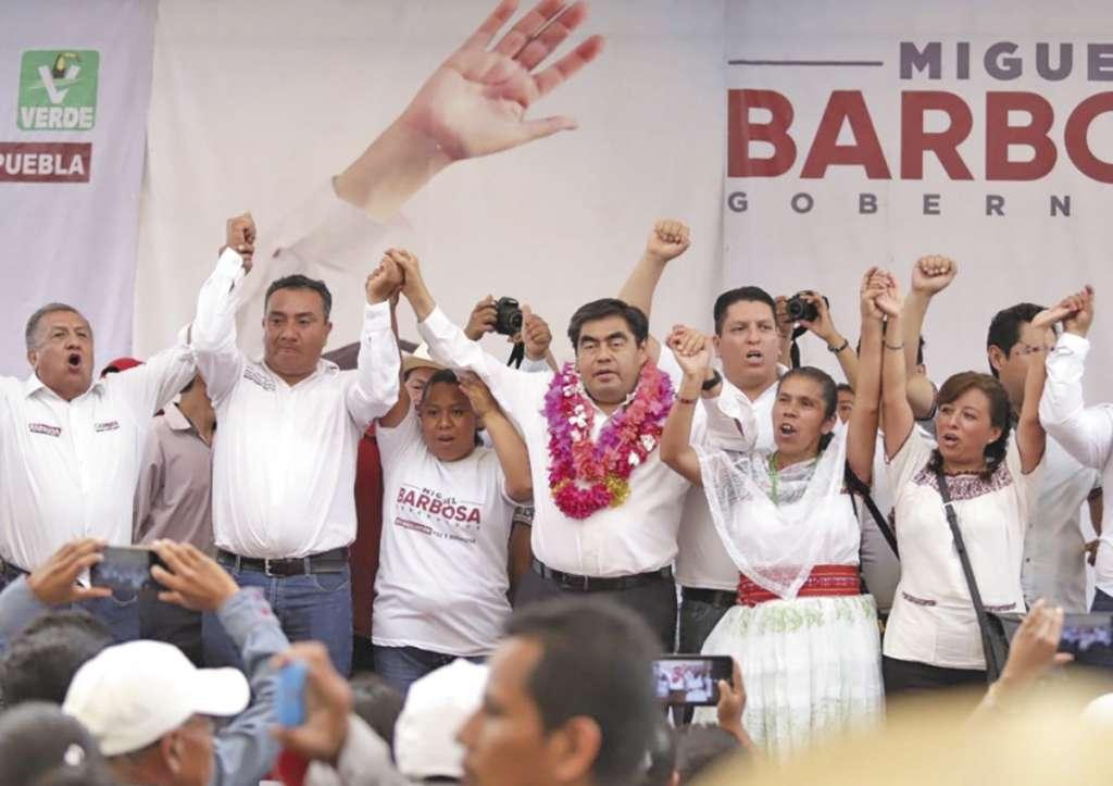 Durante su campaña, Barbosa ha expresado en varias ocasiones su apoyo a las mujeres. FOTO: ESPECIAL