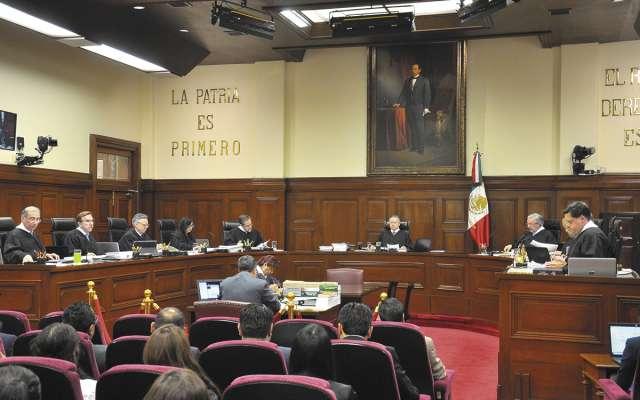 La discusión en el Pleno de la SCJN se mantiene con diversidad de opiniones. Foto: Especial