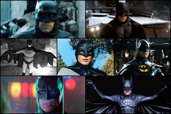 7 actores que han sido Batman