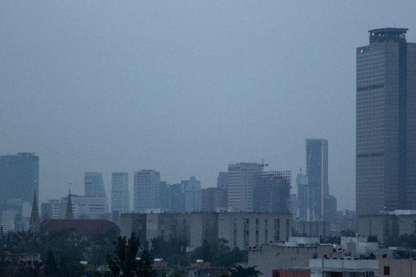 Por cuarto día consecutivo se mantiene la contingencia ambiental en el Valle de México. Foto: Cuartoscuro