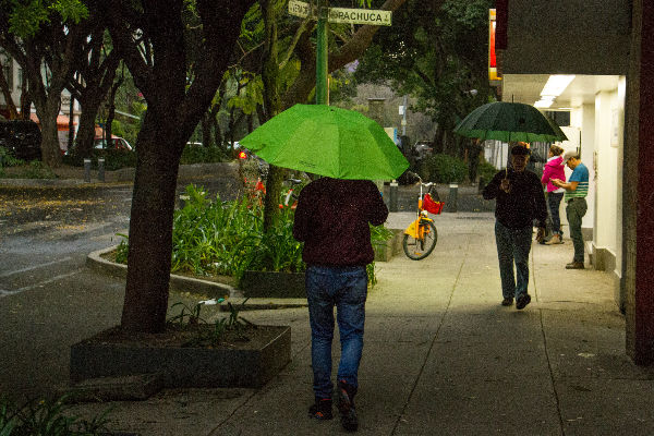 Este viernes se espera presencia de lluvia en el Valle de México