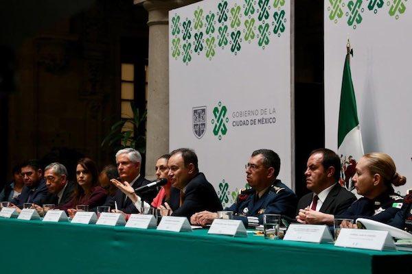 Reunión Regional de Coordinación en materia de Seguridad de la Zona Centro