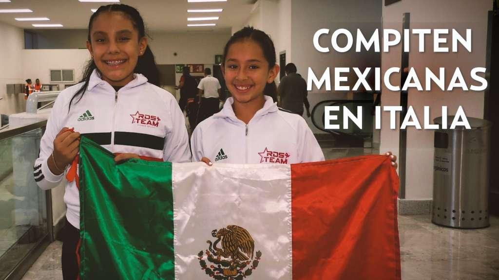 Compiten mexicanas en Verona