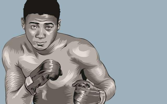 Conquistó el título mundial de los pesados, vacante por la renuncia de Rocky Marciano. ILUSTRACIÓN: ALLAN G. RAMÍREZ