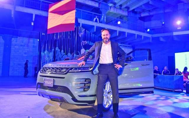 VALOR. Raúl Peñafiel, CEO de Jaguar Land Rover, dice que la firma está atravesando por uno de sus mejores momentos. Foto: LESLIE PÉREZ