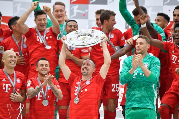 Bayern Múnich gana en la Bundesliga