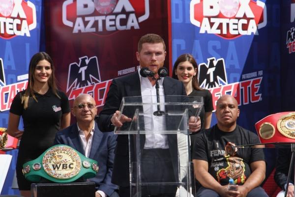 Fundación que apoya Canelo Álvarez es ligada con lavado de dinero.