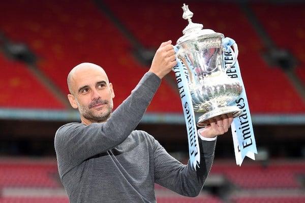 PEp Guardiola, DT del Manchester City