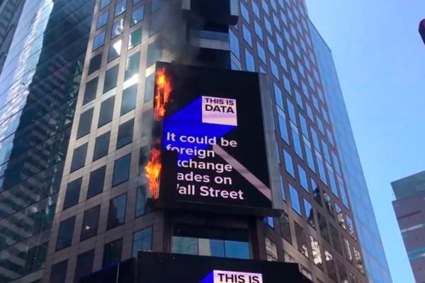 Pantalla Times Square