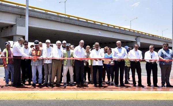 El gobernador Quirino Ordaz y el titular de la SCT, Javier Jiménez Espriú. Foto: Twitter