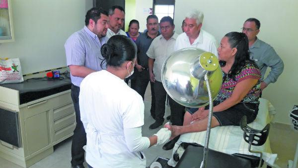 Los avances que se han tenido con el tratamiento se presentaron en el Centro de Salud de El Espinal, Oaxaca. Foto: José Luis López