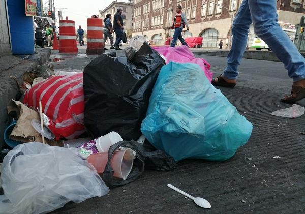 En la Ciudad de México se generan 12,816 toneladas de residuos sólidos. Foto: Cuartoscuro