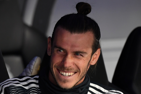 El galés volvió a una convocatoria tras dos partidos ausente por decisión de Zinedine Zidane, pero tan solo se sentó en el banquillo. Foto: AFP