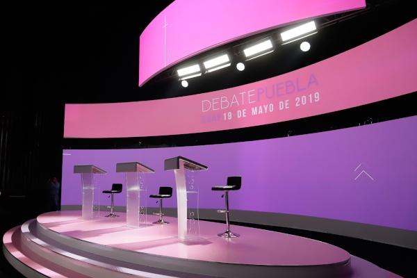 Este domingo se realiza debate en Puebla Foto: CUARTOSCURO