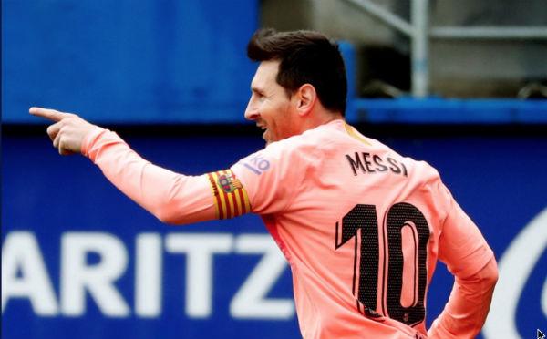 Messi también busca su sexta Bota de Oro, trofeo para el máximo anotador de las grandes ligas europeas. FOTO: ESPECIAL