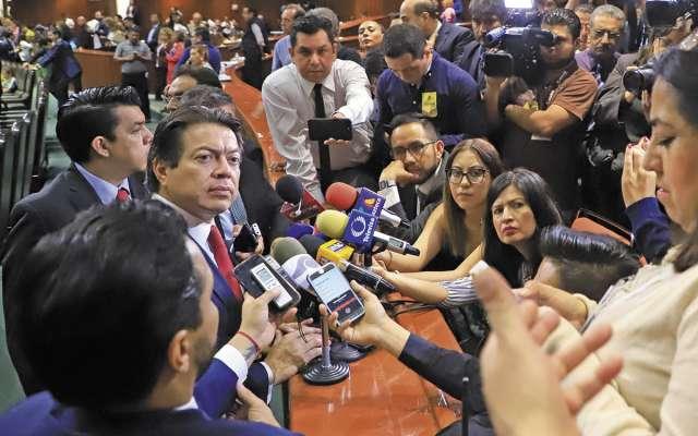El diputado Mario Delgado aseguró que urge la normatividad para la Guardia Nacional. FOTO: ESPECIAL