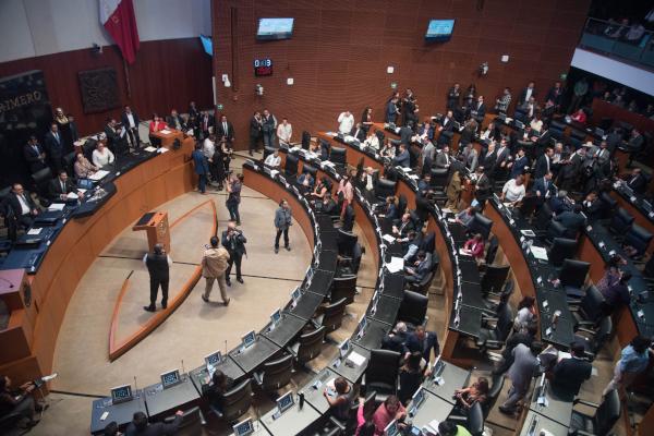 Añorve comentó que el voto del tricolor a López Obrador es para que de resultados en el tiempo que estimó el mandatario. Foto: Archivo | Cuartoscuro